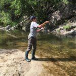 stage de pêche à la truite