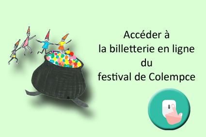billetterie festival de Colempce