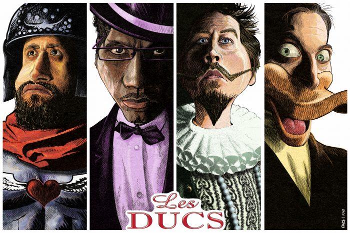 Les Ducs - dessin RV